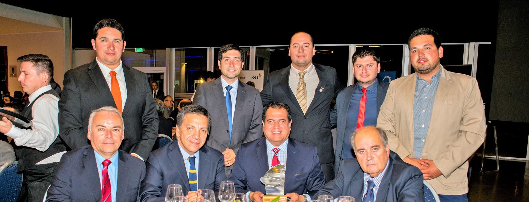 Puerto Ventanas recibió el premio al desarrollo industrial