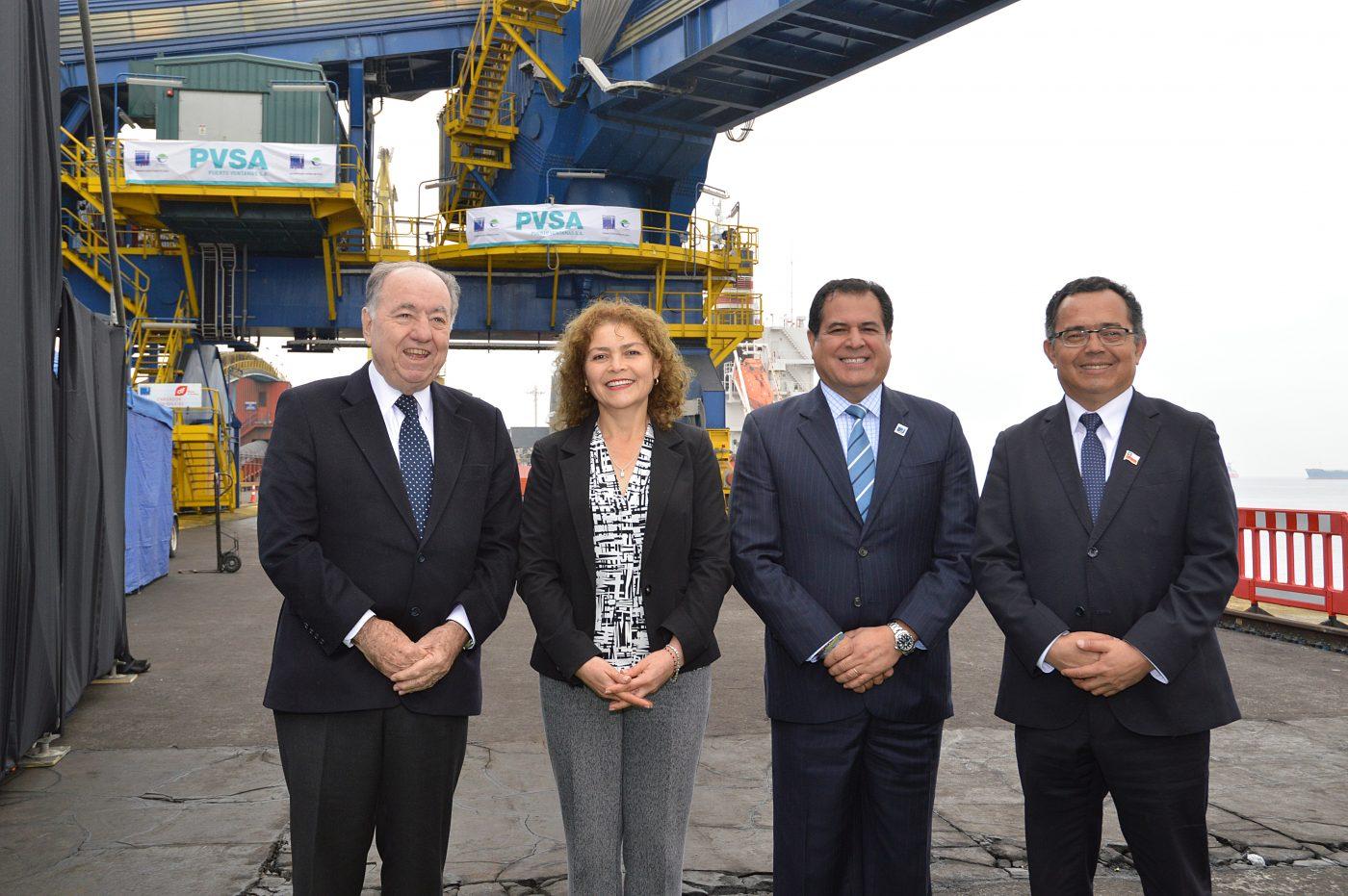 PVSA Inauguró moderno sistema de embarque de concentrado de cobre