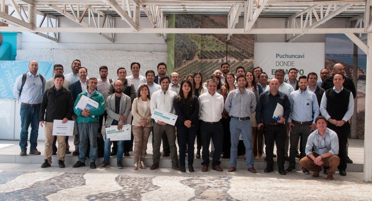 Puerto Ventanas junto a PUCV y Corfo realizó balance de su programa de innovación 2019
