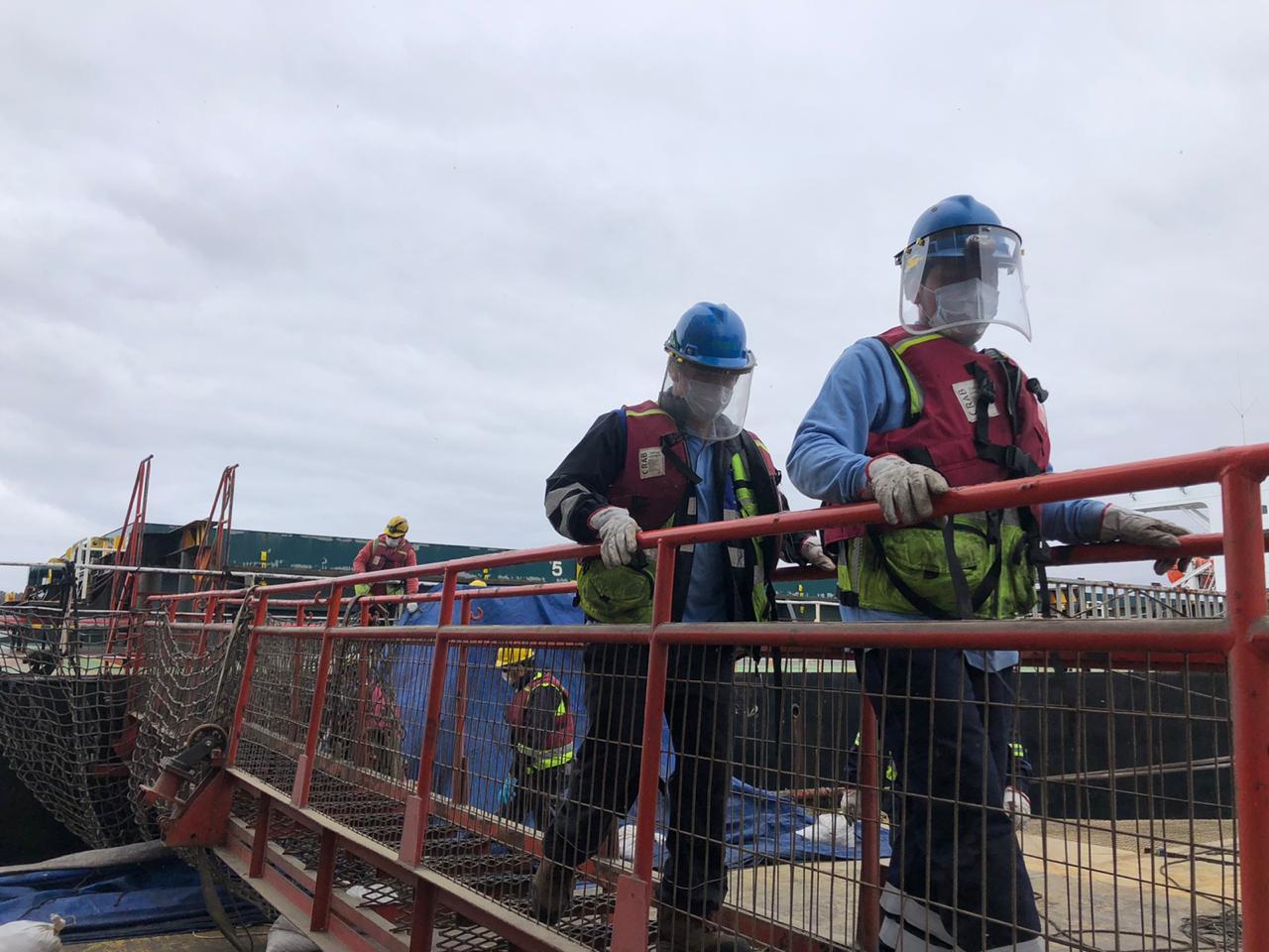 Puerto Ventanas implementa teletrabajo y da facilidades a trabajadores mayores y enfermos crónicos