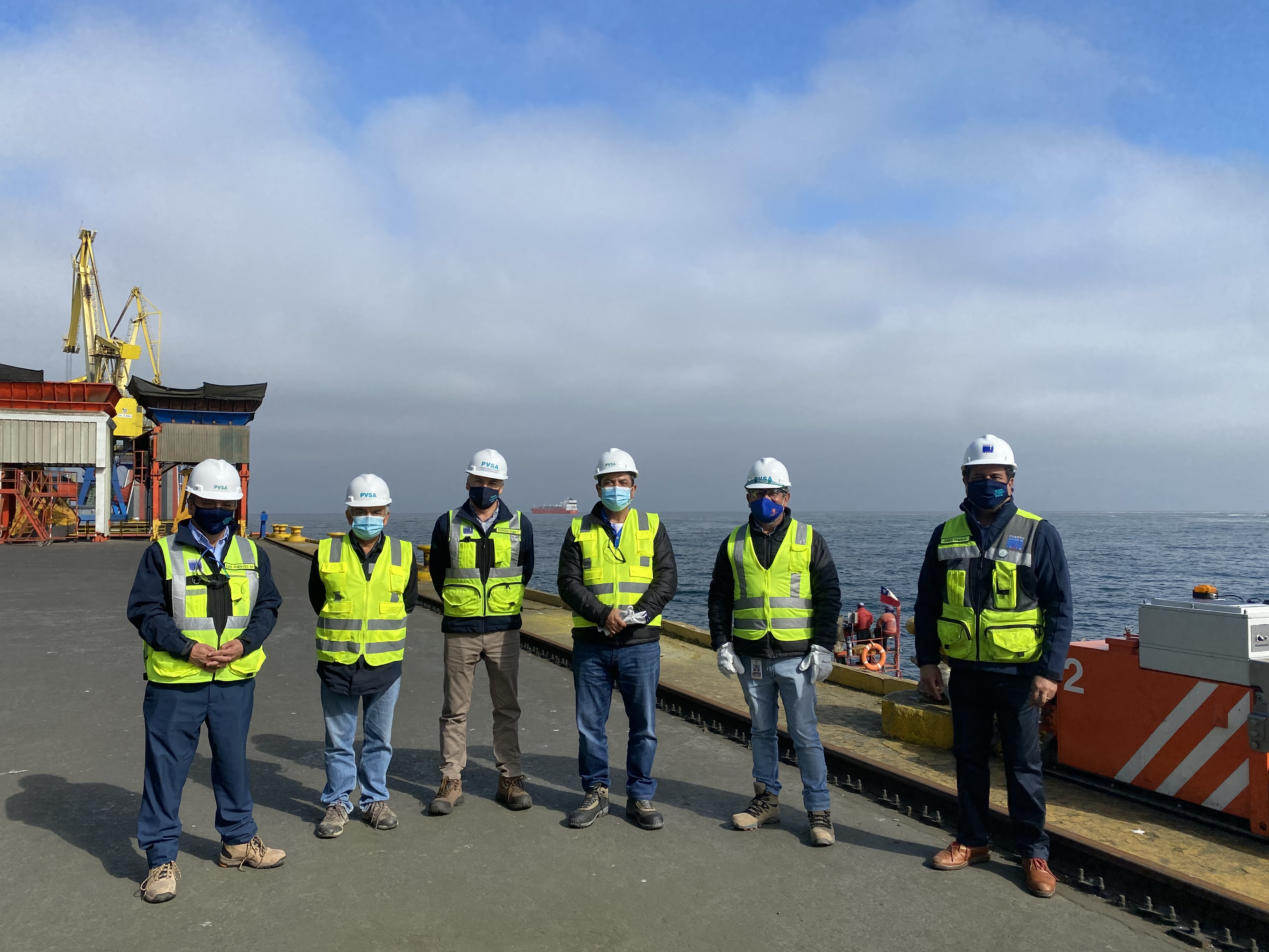 Puerto Ventanas es destacado por su innovación e infraestructura por el gerente de Codelco División Ventanas